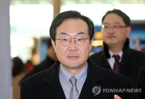 Le représentant sud-coréen aux pourparlers à six sur la dénucléarisation de la Corée du Nord, Lee Do-hoon.