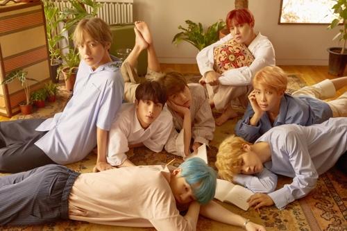 Le groupe BTS.