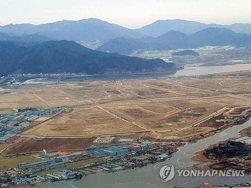 Vue du quartier de Busan, la deuxième plus grande ville du pays, qui a été sélectionnée comme ville d'essai pour la réalisation d'une «ville intelligente».
