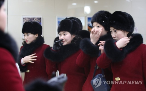 JO 2018: une troupe d'artistes nord-coréens en route pour le Sud