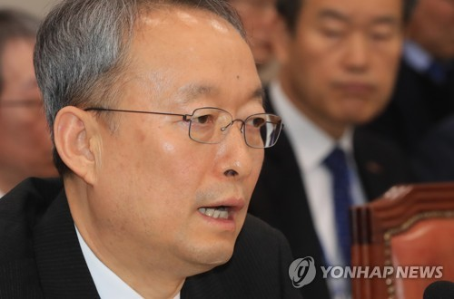 Ministre du Commerce, de l'Industrie et de l'Energie Paik Un-gyu (Photo d'archives Yonhap)