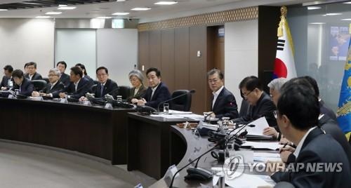 Une réunion du conseil national de sécurité le 29 novembre 2017.