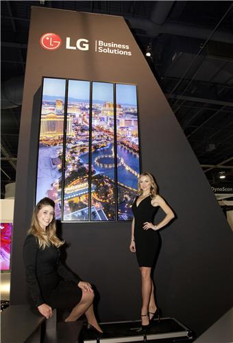 LG Electronics Inc. à la Digital Signage Expo 2018.