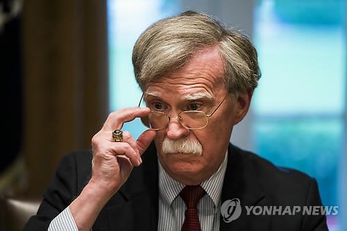 Le conseiller à la sécurité nationale des Etats-Unis, John Bolton.