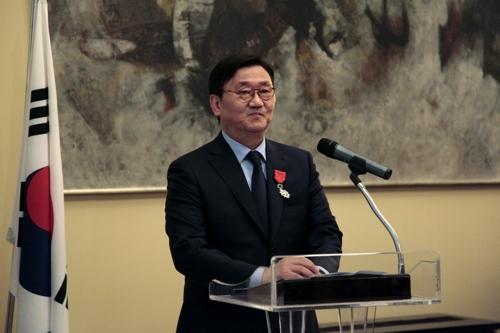Le président de GNC Media, Hong Seong-il. © GNC Media