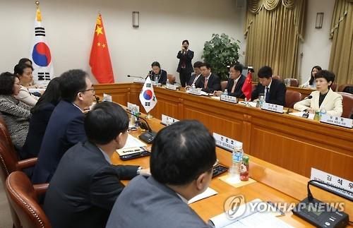 La 21e réunion du Comité économique conjoint Corée-Chine. (Photo d'archives Yonhap)