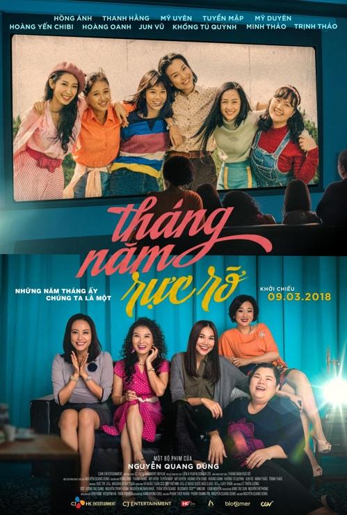 L'affiche promotionnelle du film «Go Go Sisters», la version vietnamienne du film coréen «Sunny».