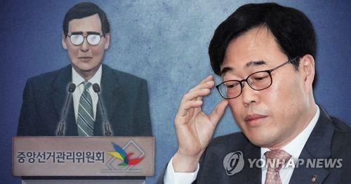 Le gouverneur du Service de supervision financiere (FSS) Kim Ki-sik.