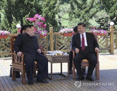Kim a effectué une deuxième visite en Chine