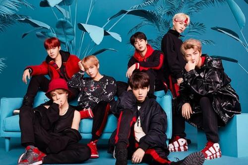 Le groupe de K-pop Bangtan Boys (BTS). ⓒ Big Hit Entertainment