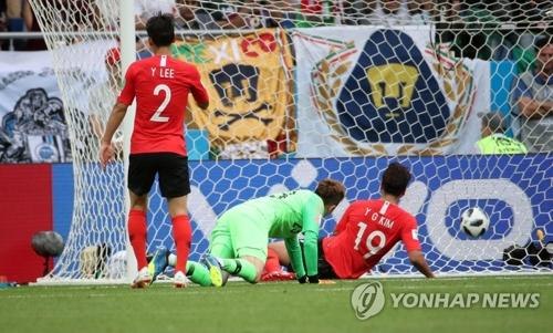 (LEAD) Coupe du monde : le Mexique bat la Corée du Sud 2 à 1