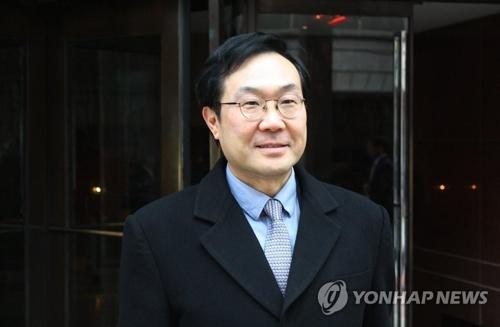Le représentant spécial pour la paix sur la péninsule coréenne et les affaires de sécurité du ministère des Affaires étrangères Lee Do-hoon.