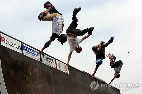Festival international des sports de loisirs de Chuncheon. (Photo d'archives Yonhap)