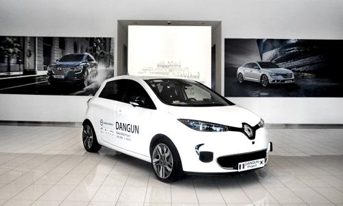 Véhicule autonome de Renault Samsung Motors Corp. © Renault Samsung Motors Corp.