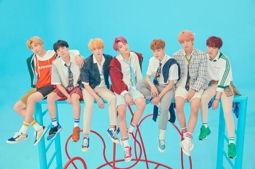 Le groupe de K-pop Bangtan Boys (BTS) © Big Hit Entertainement