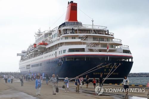 済州を訪れた日本人観光客(資料写真)=(聯合ニュース)