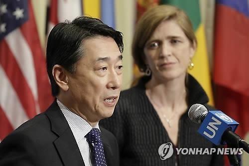 国連韓国政府代表部の呉大使=(AP=聯合ニュース)