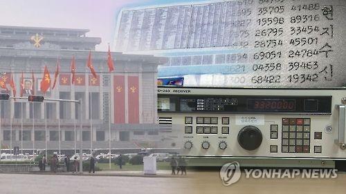 北朝鮮の暗号放送(イメージ)=(聯合ニュースTV)