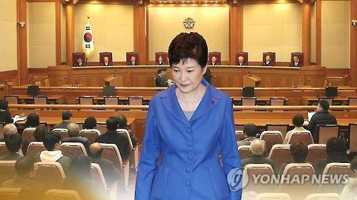 朴大統領の弾劾訴追案をめぐる憲法裁判所の審理は大詰めを迎えている(イメージ)=(聯合ニュースTV)