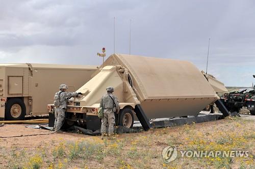 THAADのミサイル(米軍提供)=(聯合ニュース)