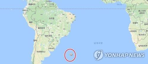 事故があった海域(グーグル地図より)=(聯合ニュース)