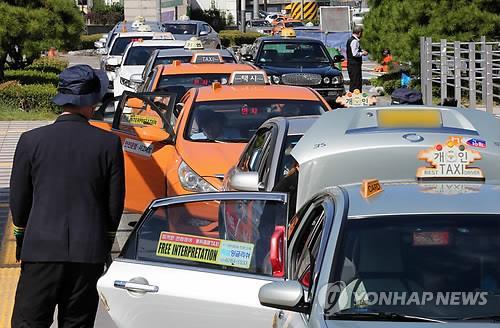 ソウルのタクシー=(聯合ニュース)