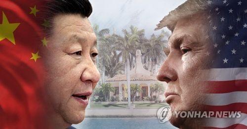 トランプ大統領(右)と習近平国家主席(イメージ)=(聯合ニュース)