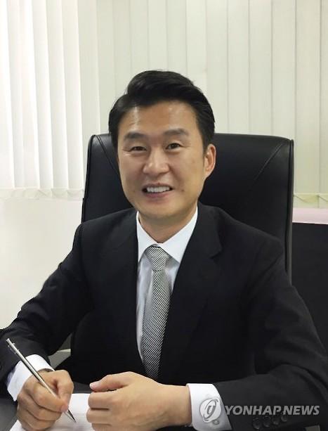 具哲・在日本韓国人連合会会長=(聯合ニュース)