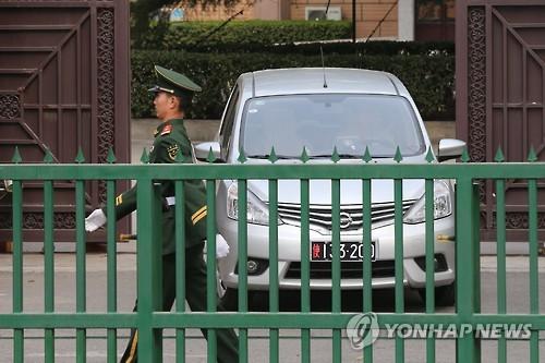北京にある北朝鮮大使館(資料写真)=(聯合ニュース)