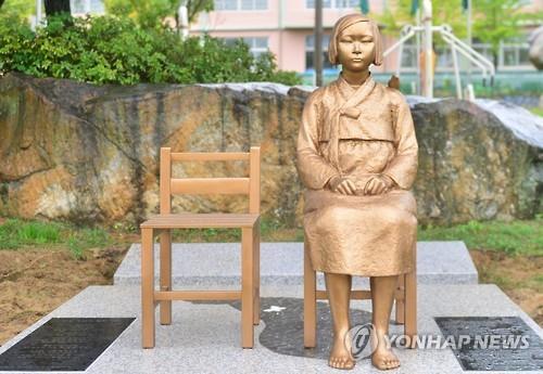韓国各地で少女像の設置が進められている(資料写真)=(聯合ニュース)