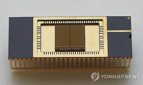 韓国製半導体(資料写真)=(聯合ニュース)