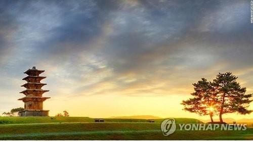 主要観光地の百済歴史遺跡地区(資料写真)=(聯合ニュース)