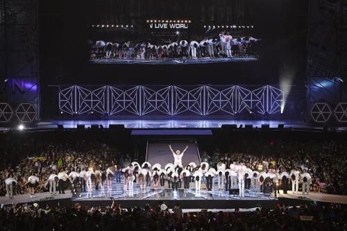 2014年に開催された公演の様子(同社提供)=(聯合ニュース)