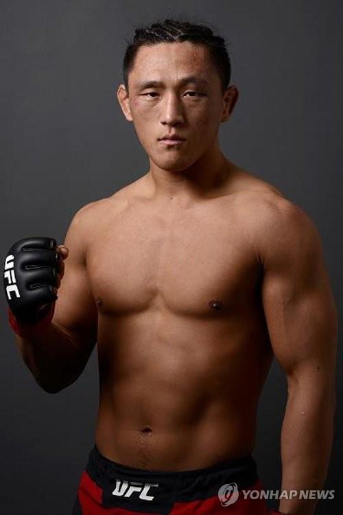 キム・ドンヒョン(UFC提供)=(聯合ニュース)