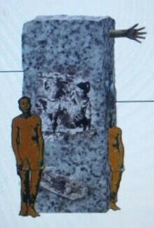 対日抗争期強制動員被害者連合会がソウルの日本大使館前に設置を計画する労働者像の原案(同会提供)=(聯合ニュース)