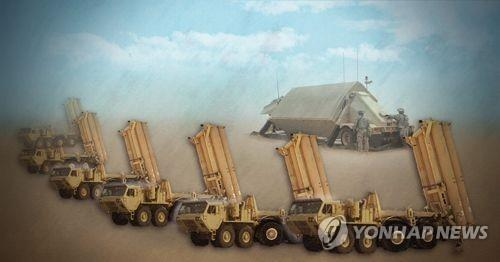 THAAD配備地に発射台4基の追加搬入が完了し、本格運用が始まる見通しだ(イメージ)=(聯合ニュース)
