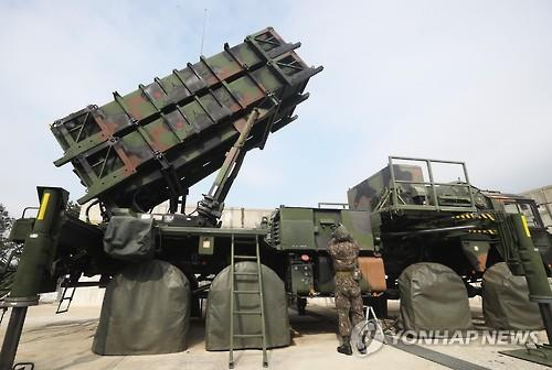 韓国空軍のパトリオットミサイルの発射台(資料写真)=(聯合ニュース)