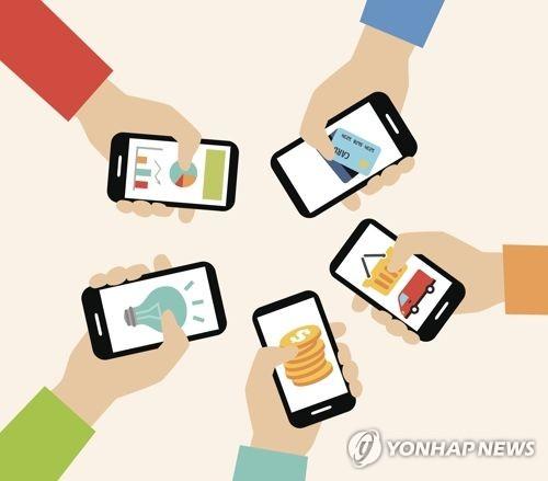 韓国人はモバイルアプリを1日平均3.3時間使用するとの調査結果が明らかになった(イメージ)=(聯合ニュース)