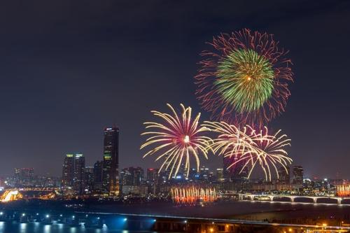 過去の「ソウル世界花火祭り」=(聯合ニュース)