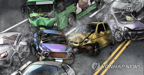 依然多い韓国の交通事故(イメージ)=(聯合ニュース)