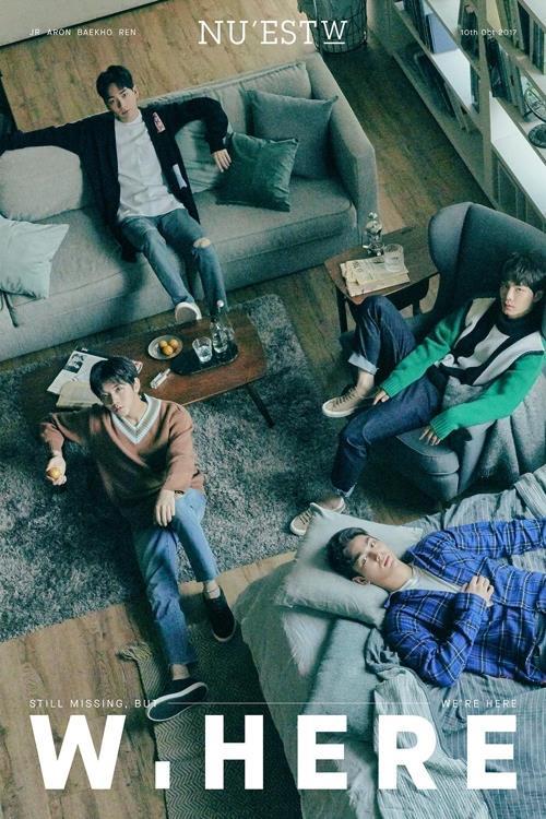 NU'EST Wのニューアルバムイメージ(所属事務所提供)=(聯合ニュース)