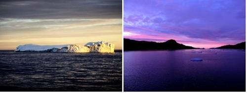 カナダ北極圏の風景を紹介する写真(文化体育観光部提供)=(聯合ニュース)