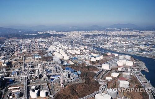 蔚山の工業団地(資料写真)=(聯合ニュース)