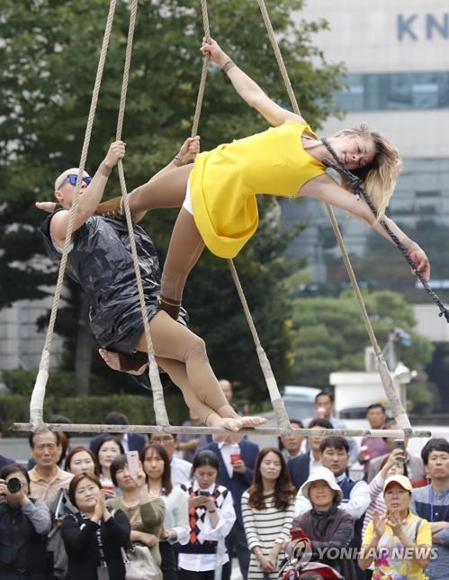 「ワールドカルチャーコラージュ」の公演(資料写真)=(聯合ニュース)