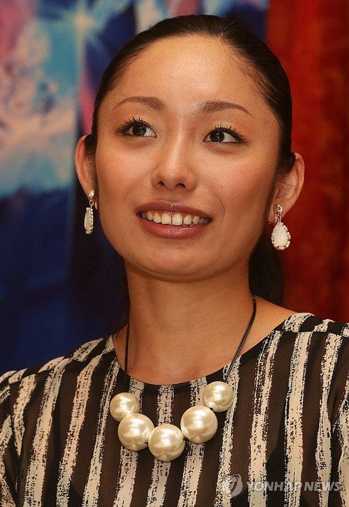 安藤美姫さん=(聯合ニュース)