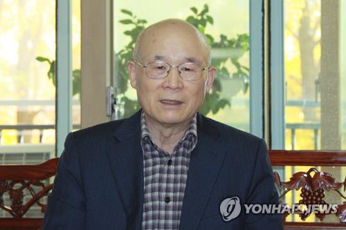 聯合ニュースのインタビューに応じる李氏=10日、ソウル(聯合ニュース)