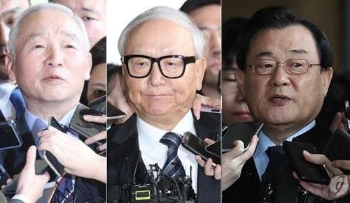 (左から)南在俊氏、李炳浩氏、李丙ギ氏(資料写真)=(聯合ニュース)