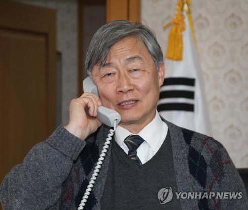 監査院長候補に指名された崔氏=(聯合ニュース)