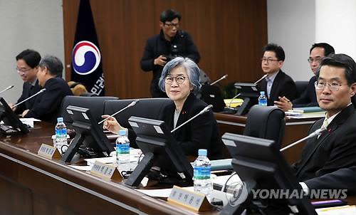 国民権益委員会で行われた全体会議=11日、世宗(聯合ニュース)