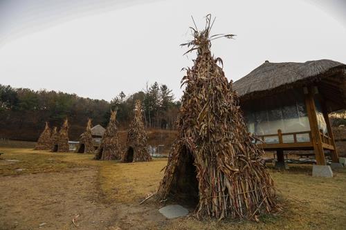 「ソナギ村」は小説「ソナギ」の背景を再現したテーマパークだ=(聯合ニュース)